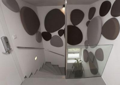 akustika schodiště