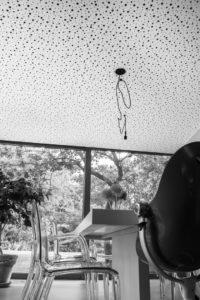 akustika v jídelně rodinného domu