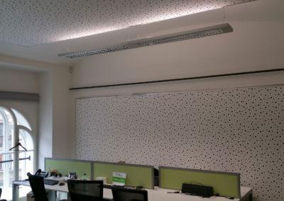 akustika v kanceláři