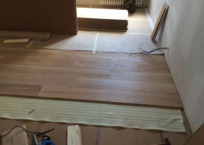 Odhlučnění podlahy - Compri + Wolf TRI 15