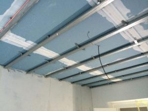Odhlučnění stropu - dvojtý podhled