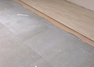 Odhlučnění podlahy - neprůzvučná podlaha