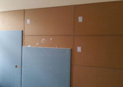 Odhlučnění bytu - montáž stěny