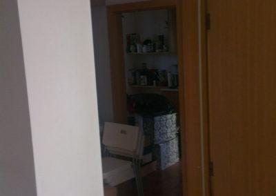 Odhlučnění stěny - hotové zádveří