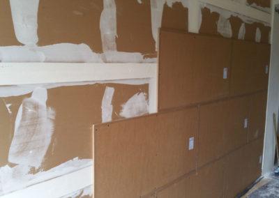 Odhlučnění stěny - Silent board + Wolf TRI15