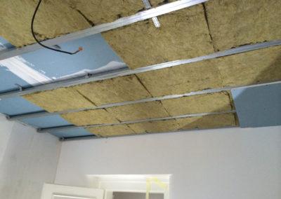 Odhlučnění stropu - složitý podhled