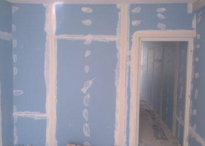Odhlučnění stěny ze škvárobetonu