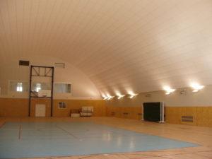 akustika v tělocvičně Benešov