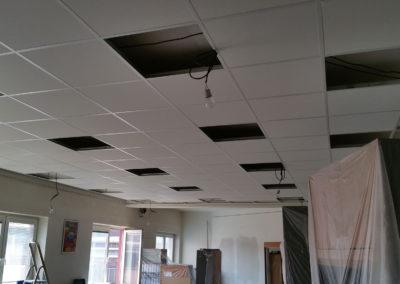 Akustika kanceláře v Třineckých železárnách