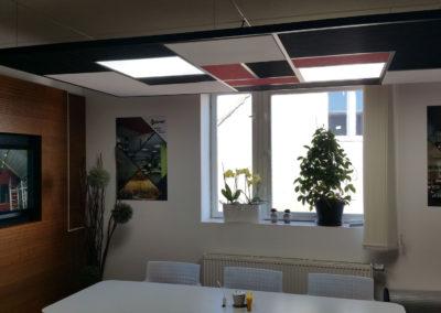 Akustika v kanceláři Esprit
