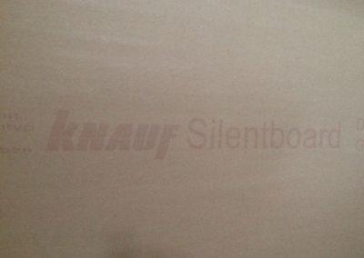 Knauf silent board