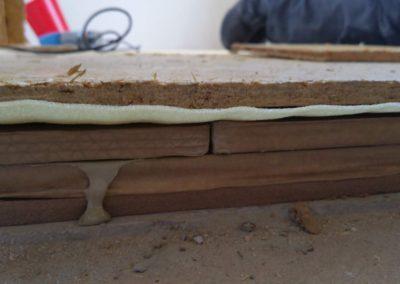 Odhlučnění podlahy deskou WOLF