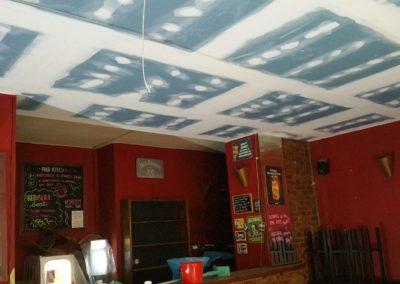 Odhlučnění restaurace Red Room