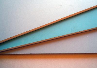 Sádrokartonové neprozvučné desky