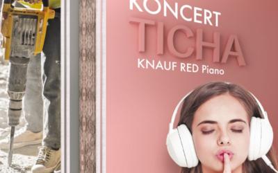 KNAUF RED Piano protihluková deska za nízkou cenu
