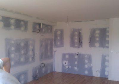 Odhlučnění stěny za kuchyňskou linkou