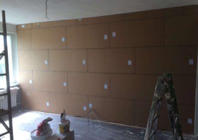 Odhlučnění stěny v obýváku