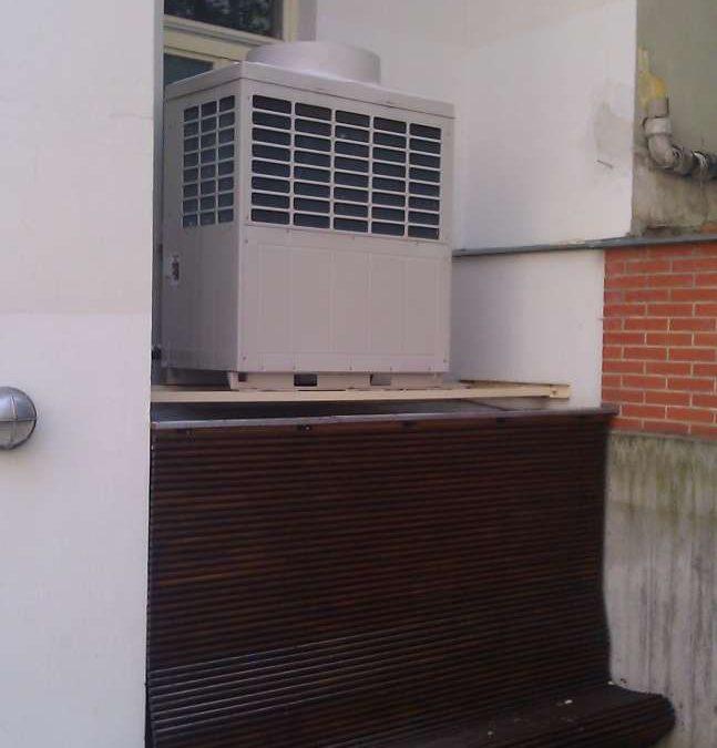 Odhlučnění klimatizace v hotelu v Praze