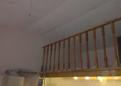 Odhlučnění klenbového stropu