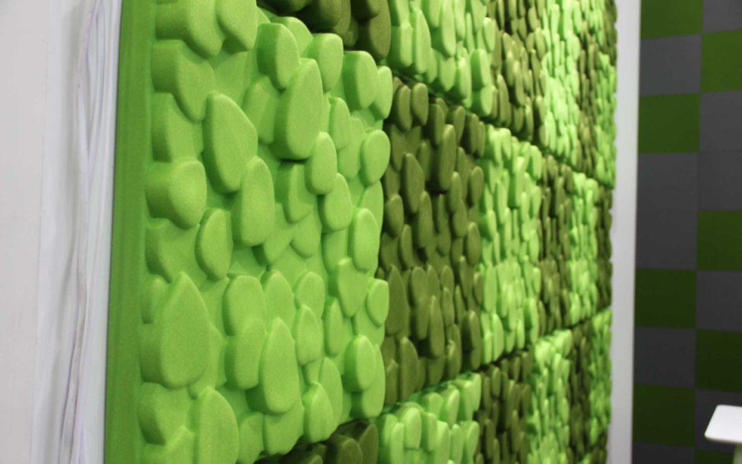 Molitanové a Polyesterové akustické panely