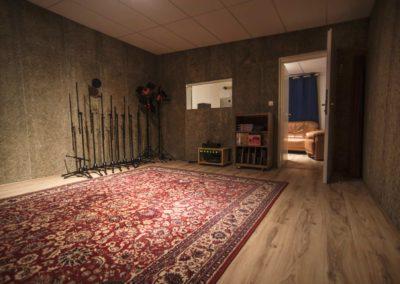 Zkušebna a nahrávací studio Libeň Ricard Tejada