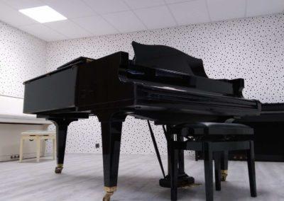 Domácí zkušebna pro klavír