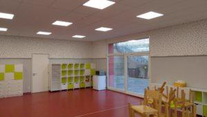 akustika školní jídelny