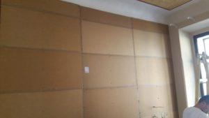 neprůzvučná stěna v hotelu
