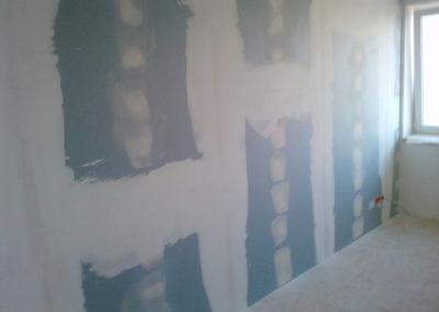 Odhlučnění stěny - modré ticho