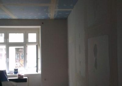 Odhlučnění bytu - odhlučnění stropu