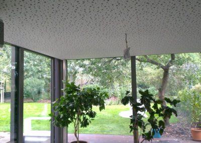 Prostorová akustika - strop