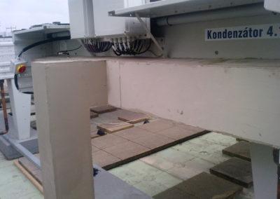 Zvuková izolace chladivového potrubi