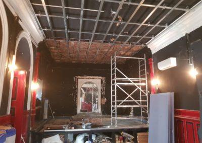 Odhlučnění stropu v Pididivadle